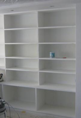 Galvan Lacados Acabados Interior Libreria Piso Alicante