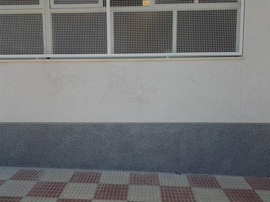 Eliminación de grafitis después
