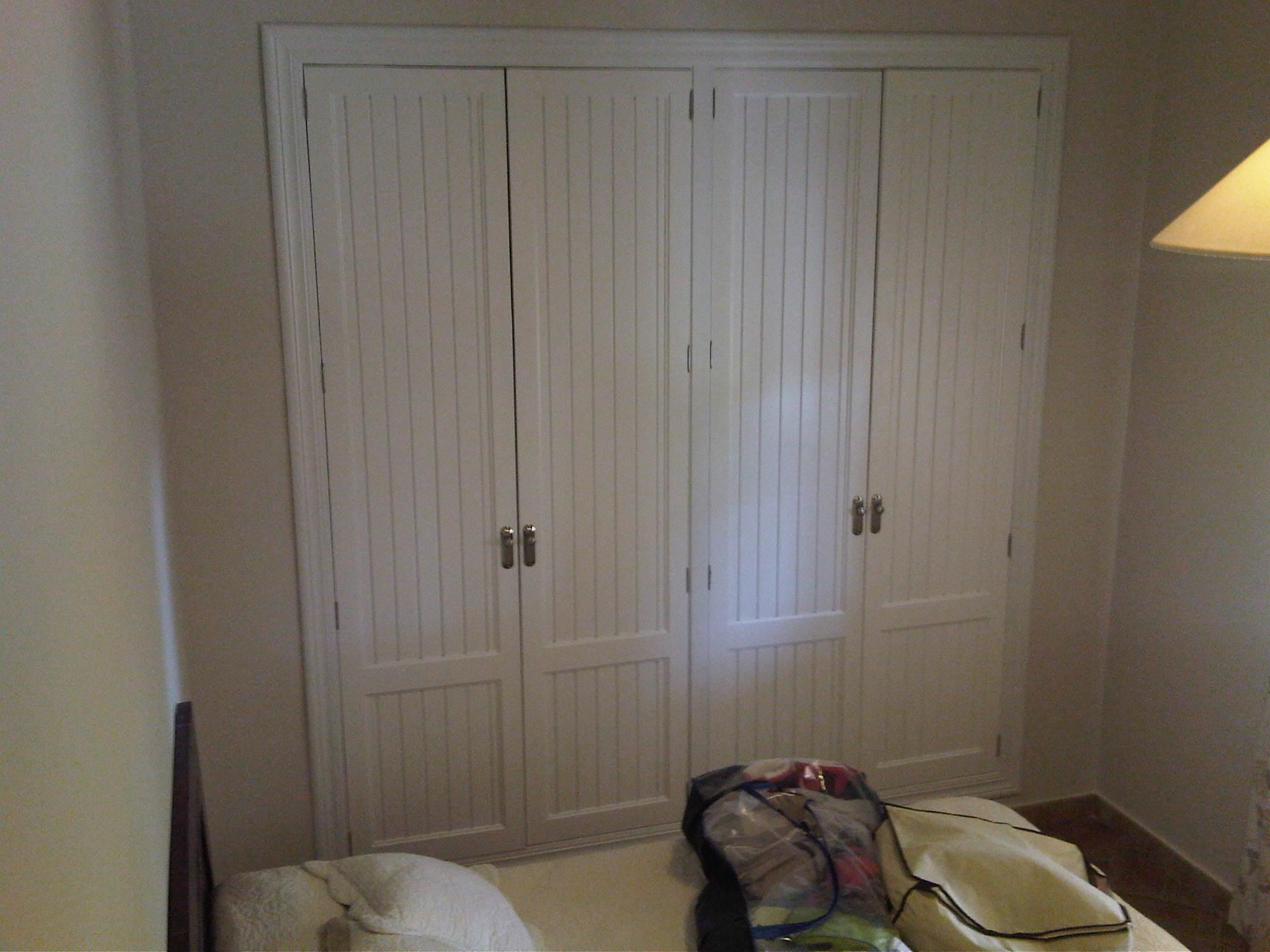 Lacados y barnizados armario despues