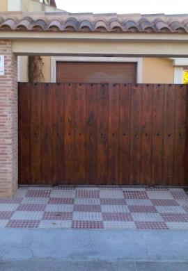 Puerta acabados exteriores mantenimiento despues
