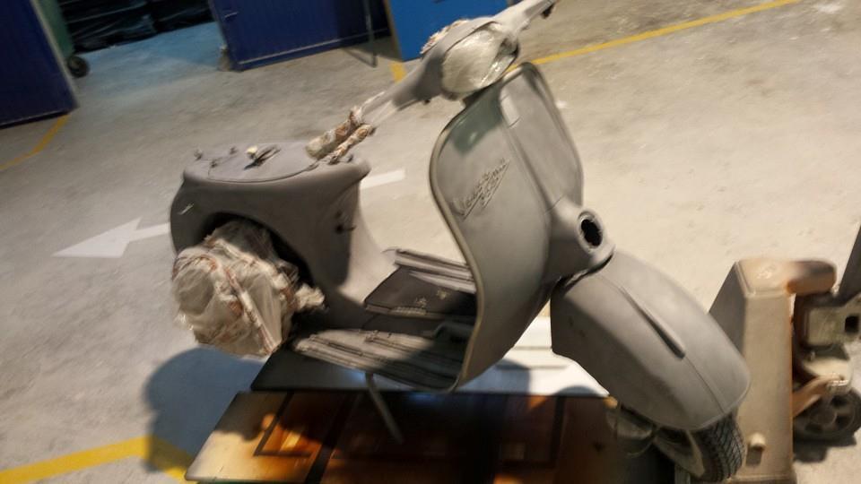 El arenado de chasis de moto: limpieza rápida y barata