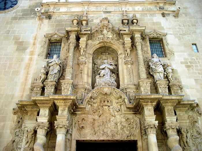 Restauración de la Basílica de Santa María de Alicante