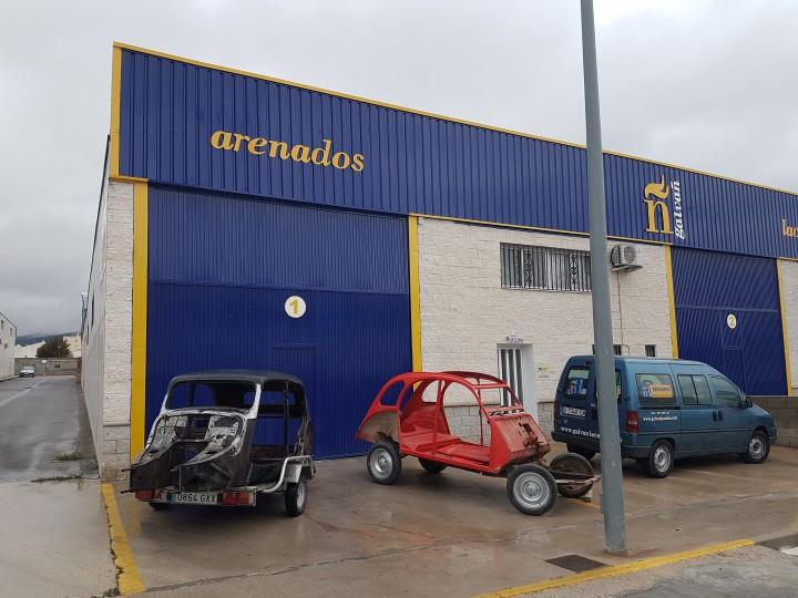 instalaciones de Galvañ Arenados en Castalla