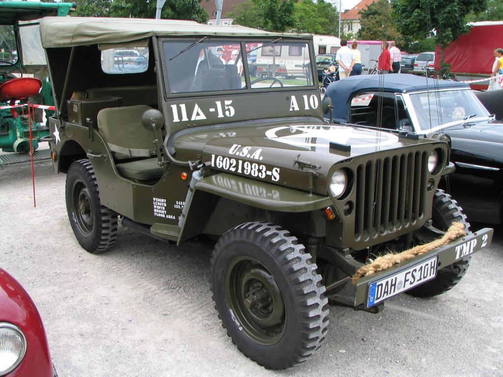 Auto clásico Jeep Willys