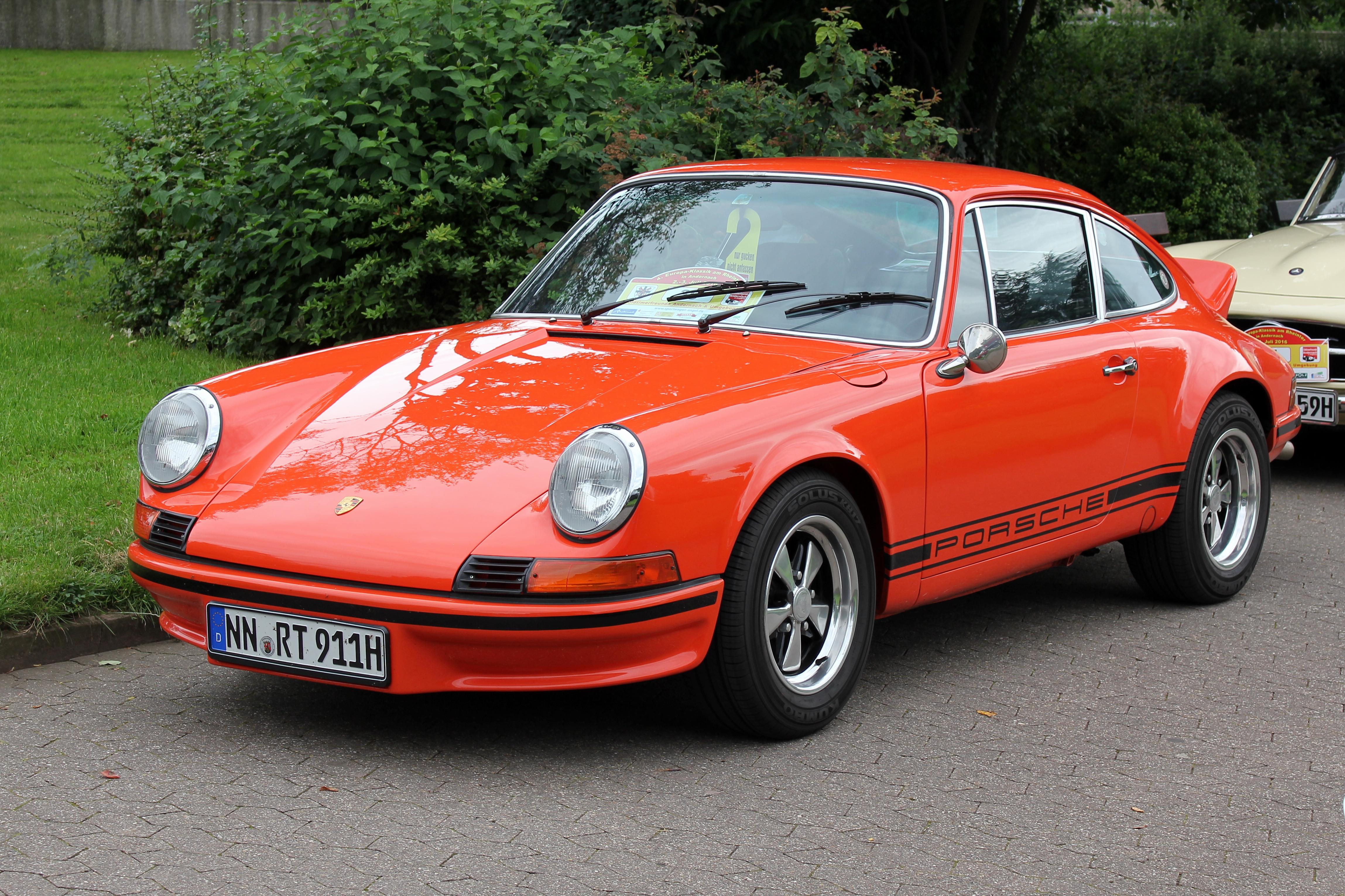Mejores autos clásicos Porsche 911