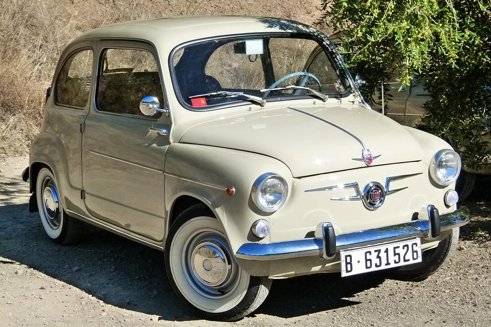 Fiat 600 autos clásicos