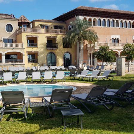 Vsitas exteriores del Hotel Melia Villaitana de Benidorm