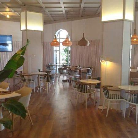 Interior del restaurante del Hotel Melia Villaitana