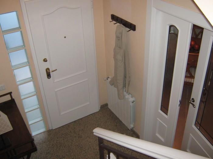 Lacados barnizados Interior vivienda blanco despues