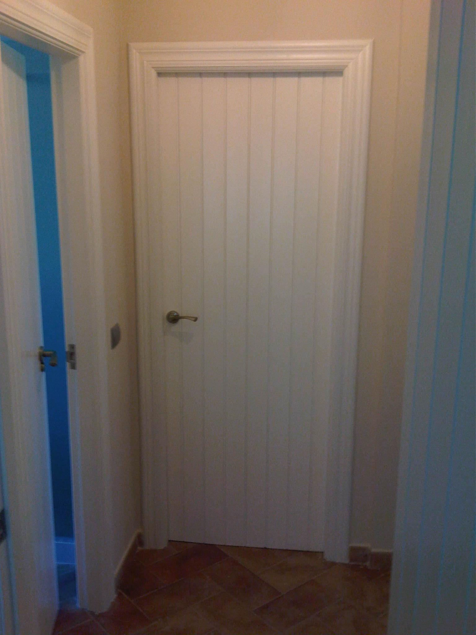 Lacados y barnizados puertas despues