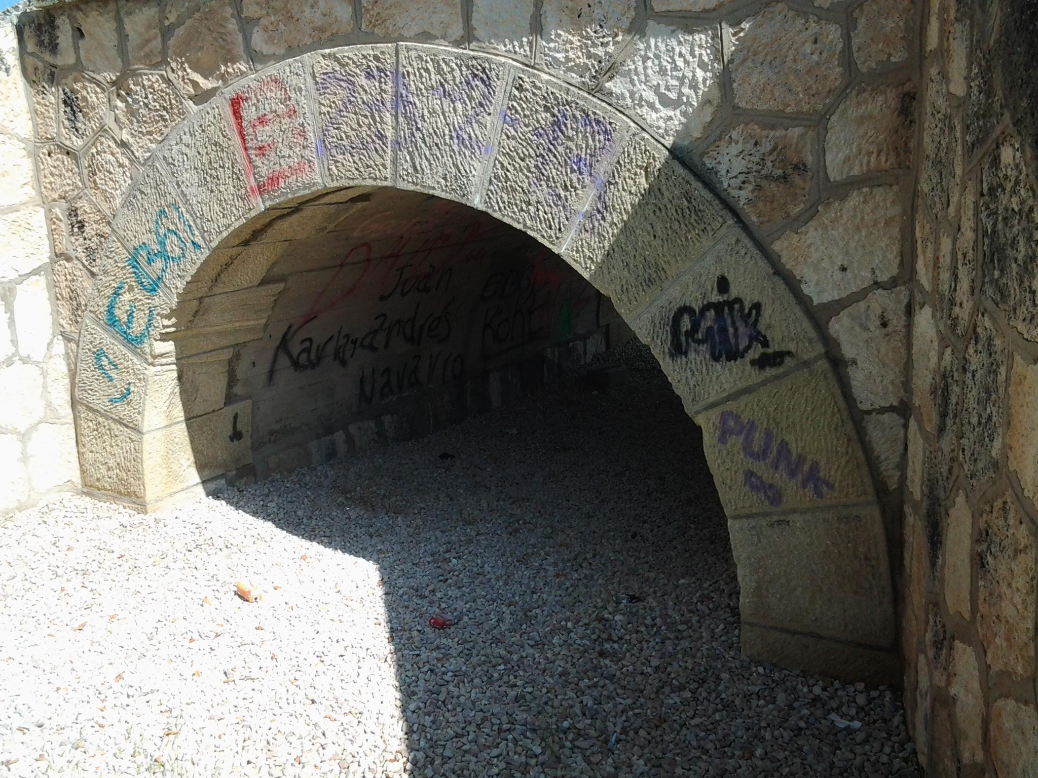 Limpieza con chorro de arena Puente de Ibi Arenado