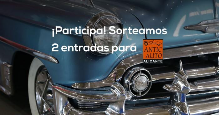 ¡SORTEO! Dos entradas para Antic Auto