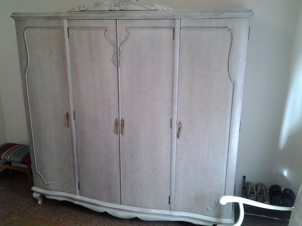 Armario muebles vintage restaurado