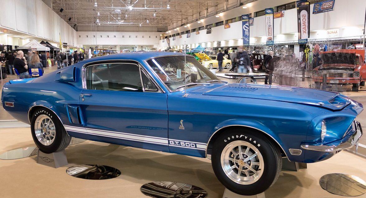 El famoso auto clásico Shelby Cobra