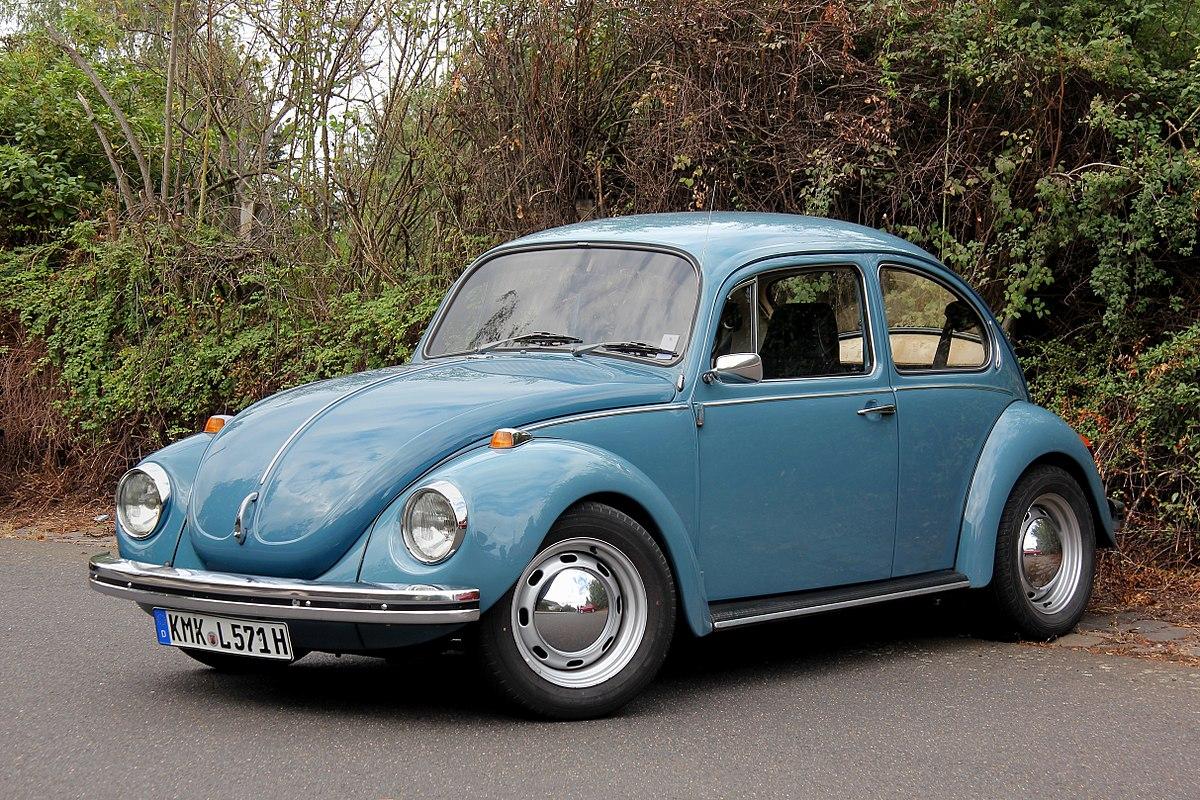 Mejores autos clásicos de la historia VW Beetle