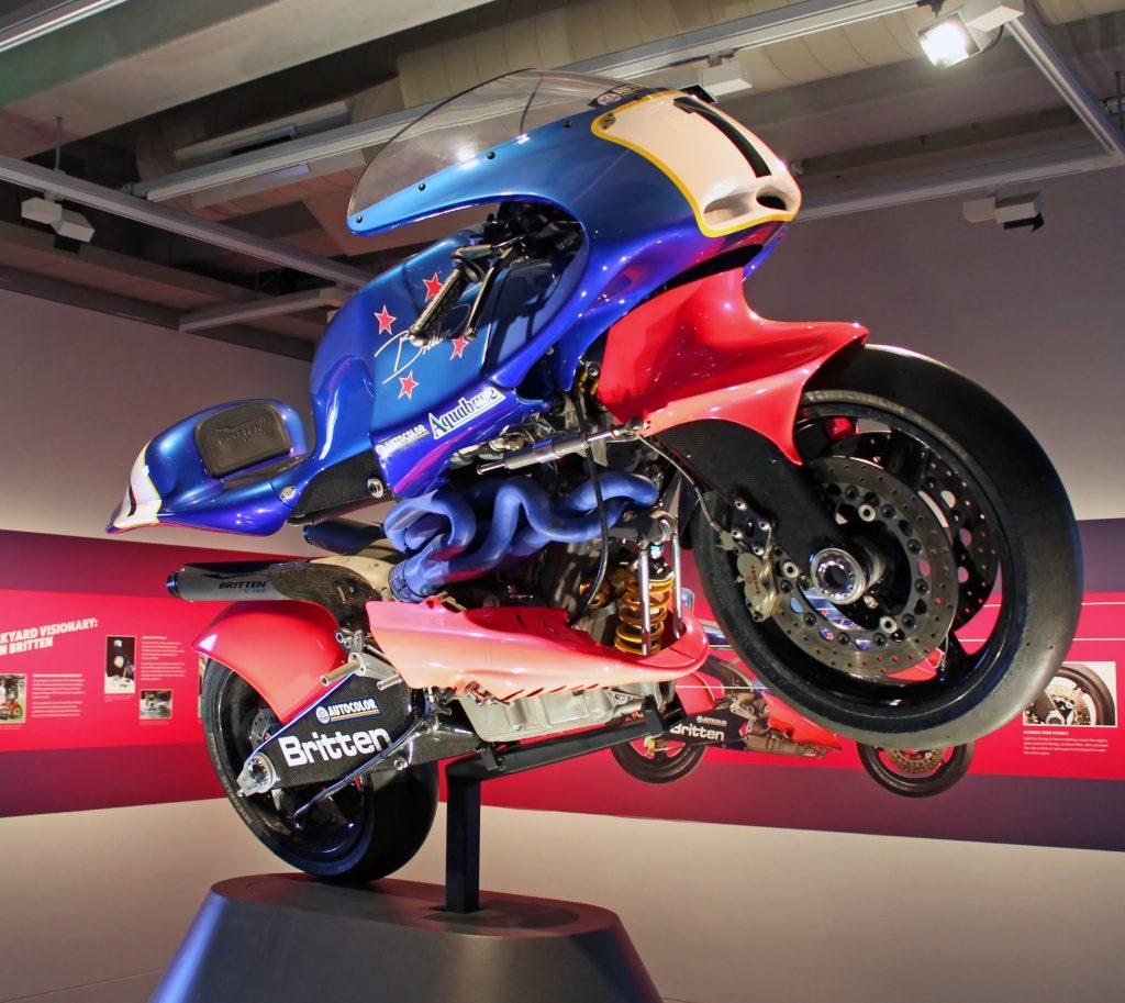 Britten V1000 top 5 mejores motos de la historia