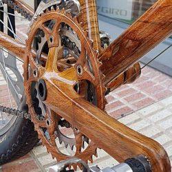 Hidroimprsion en una bicicleta