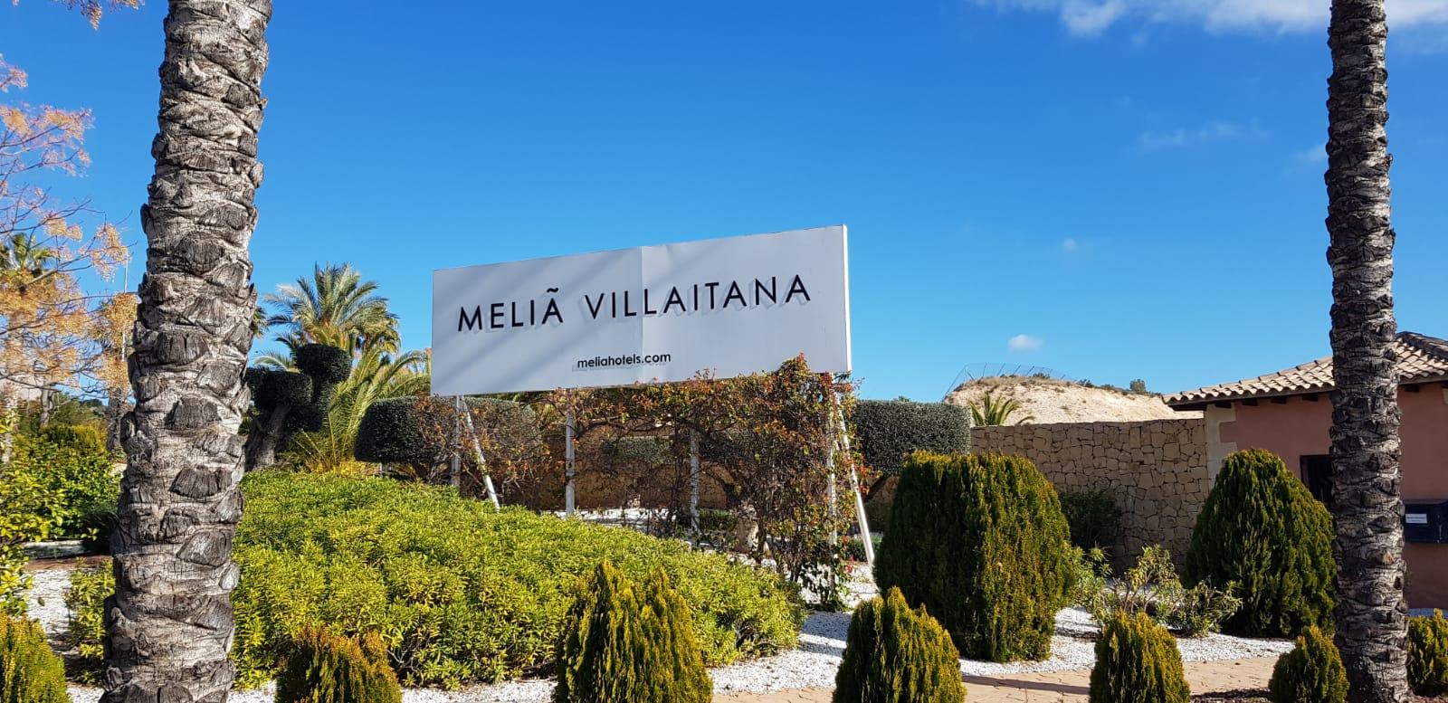 Restauración del mobiliario del Hotel Meliá Villaitana de Benidorm