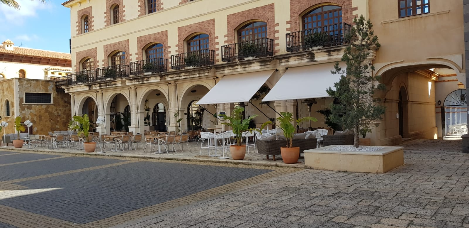 Restaurante del Hotel Villaitana de Benidorm
