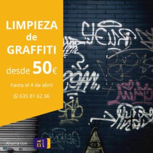 oferta limpieza graffiti