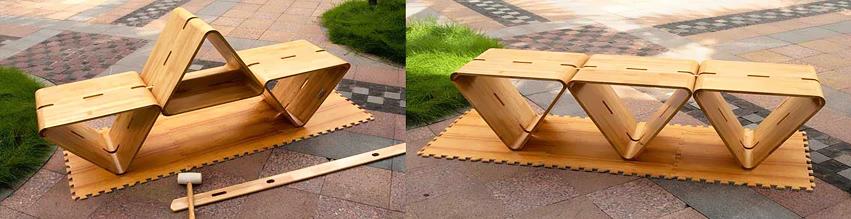El mobiliario urbano del futuro
