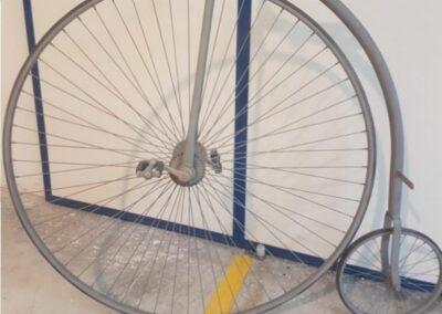Arenado de bicicleta para su restauración