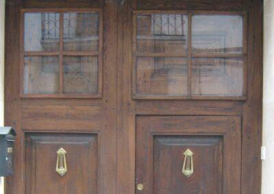 Portón restaurado en el Campello
