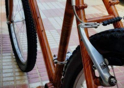 Hidroimpresion de bicicleta
